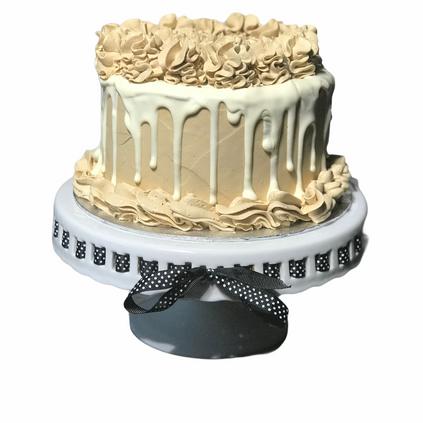 Coffee drip cake