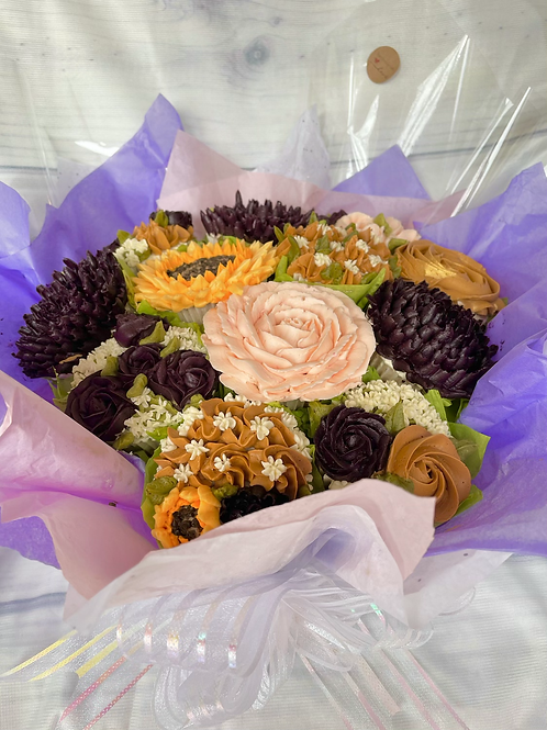 Cupcake bouquet of 24 cupcakes