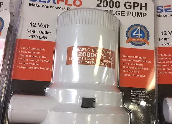 2000 GPH Pump