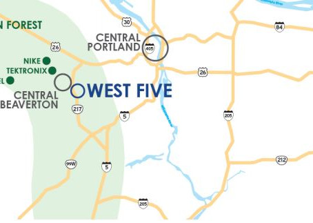 Attracting and Retaining Talent in Industrial Beaverton (OR) Includes a Plan to Add Bikeways and Wal