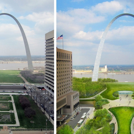 Construction Begins on St. Louis Arch Grounds