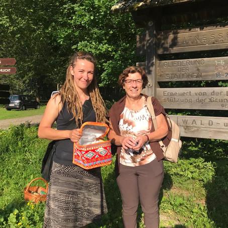 """Kräutererlebnis für Kinder und Erwachsene in von FamiliJa betreuten """"Gesunden Gemeinde"""" Obervellach"""
