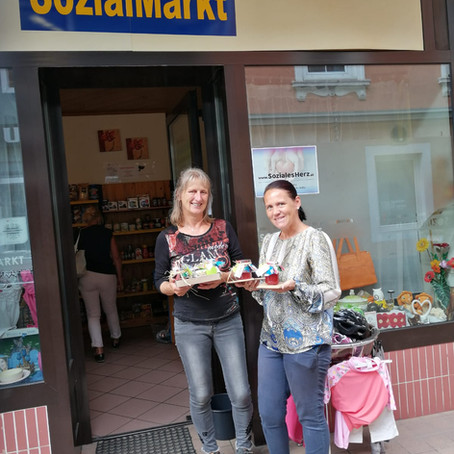 FamiliJa-Dorfspatzen unterstützen SozialMarkt Spittal/Drau