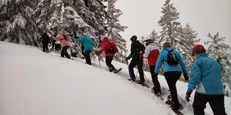 Schneeschuhwandern für Fortgeschrittene