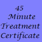45 Minute Treatment Gift Certificate