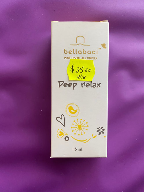 Bellabaci Deep Relax Essential Oil Concentrate