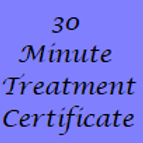 30 Minute Treatment Gift Certificate