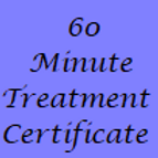 60 Minute Treatment Gift Certificate