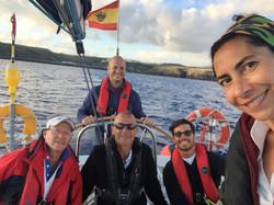 Yalla's crew heading to the Azores
