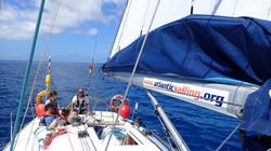Great atmosphere on board
