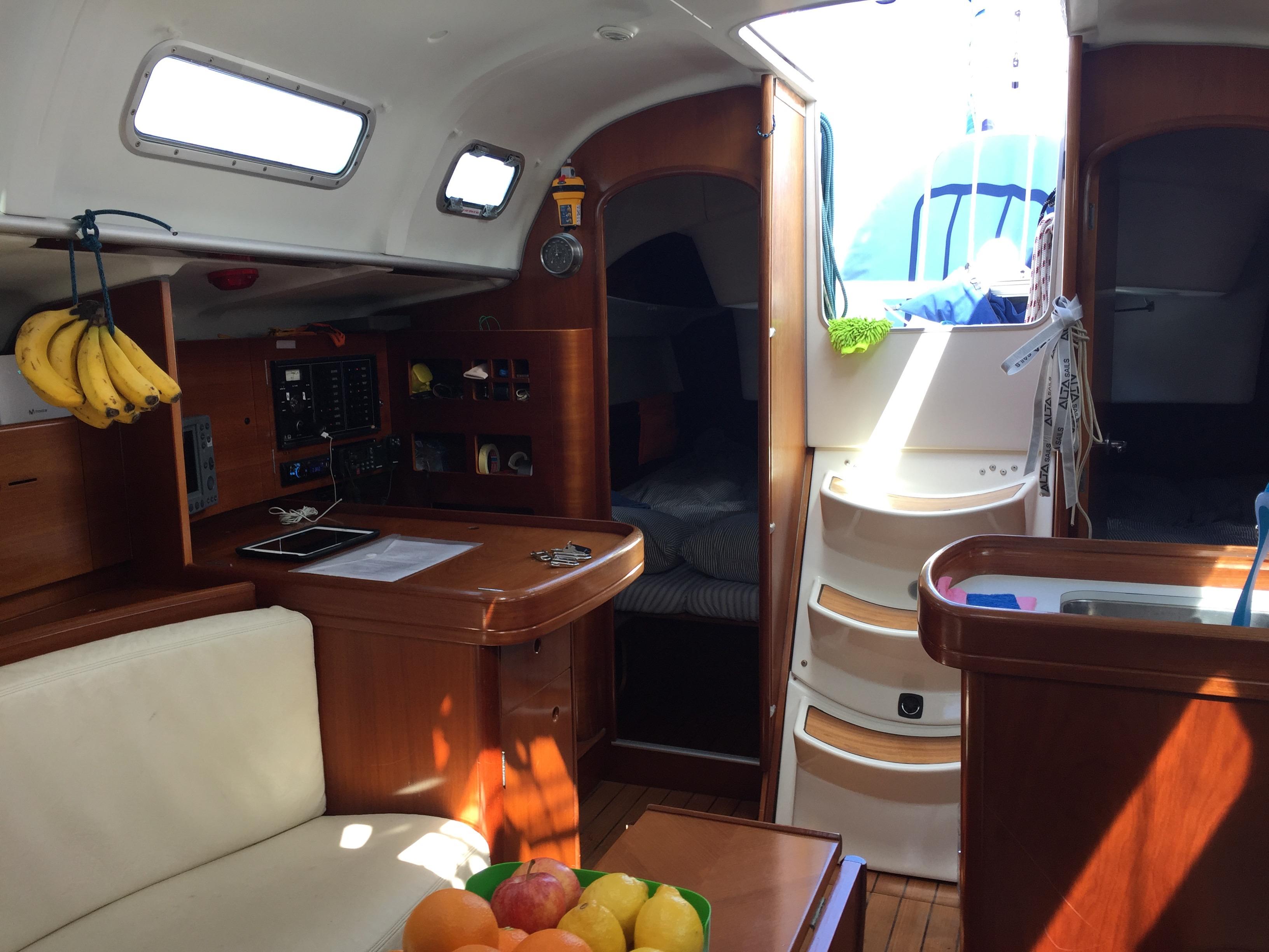 Yalla is an elegant boat
