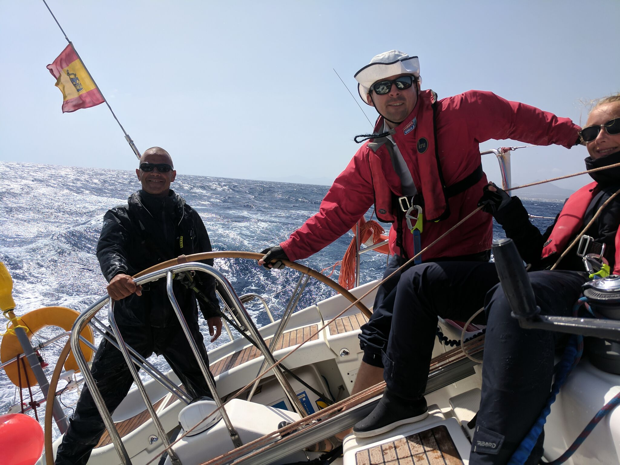 Helming in all conditions