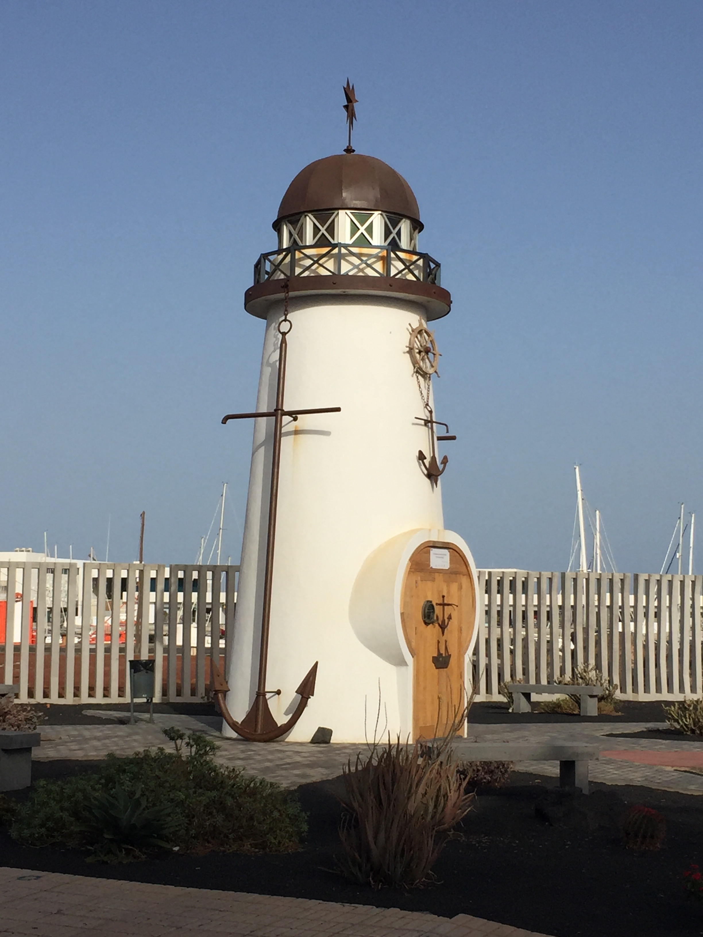 Old Lighthouse in Arrecife
