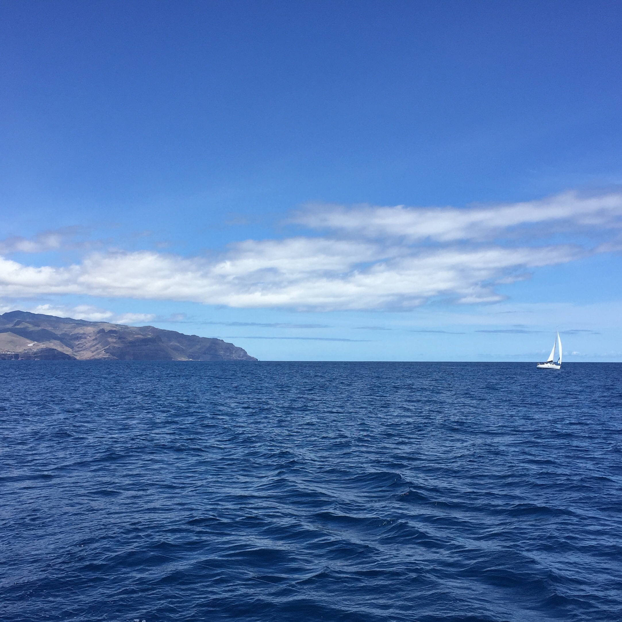 Sailing around the Canaries