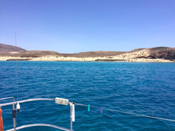 Anchoring in the Canary Islands