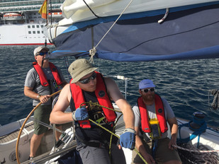 Sailing is a great sport!