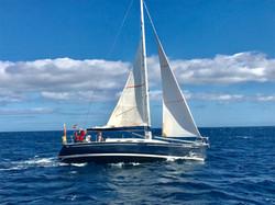 Yalla sailing fast