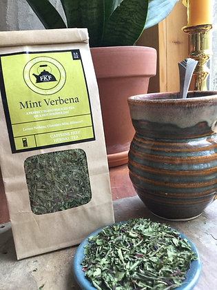 Mint Verbena Herbal Tea Blend