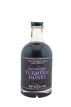 Elderberry Turmeric Honey