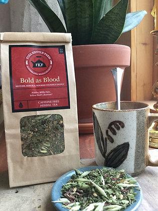 Bold as Blood Herbal Tea Blend