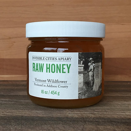 Raw Vermont Wildflower Honey