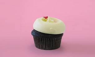 Vanilla Icing Cupcake Pink