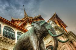 grand palace elephant