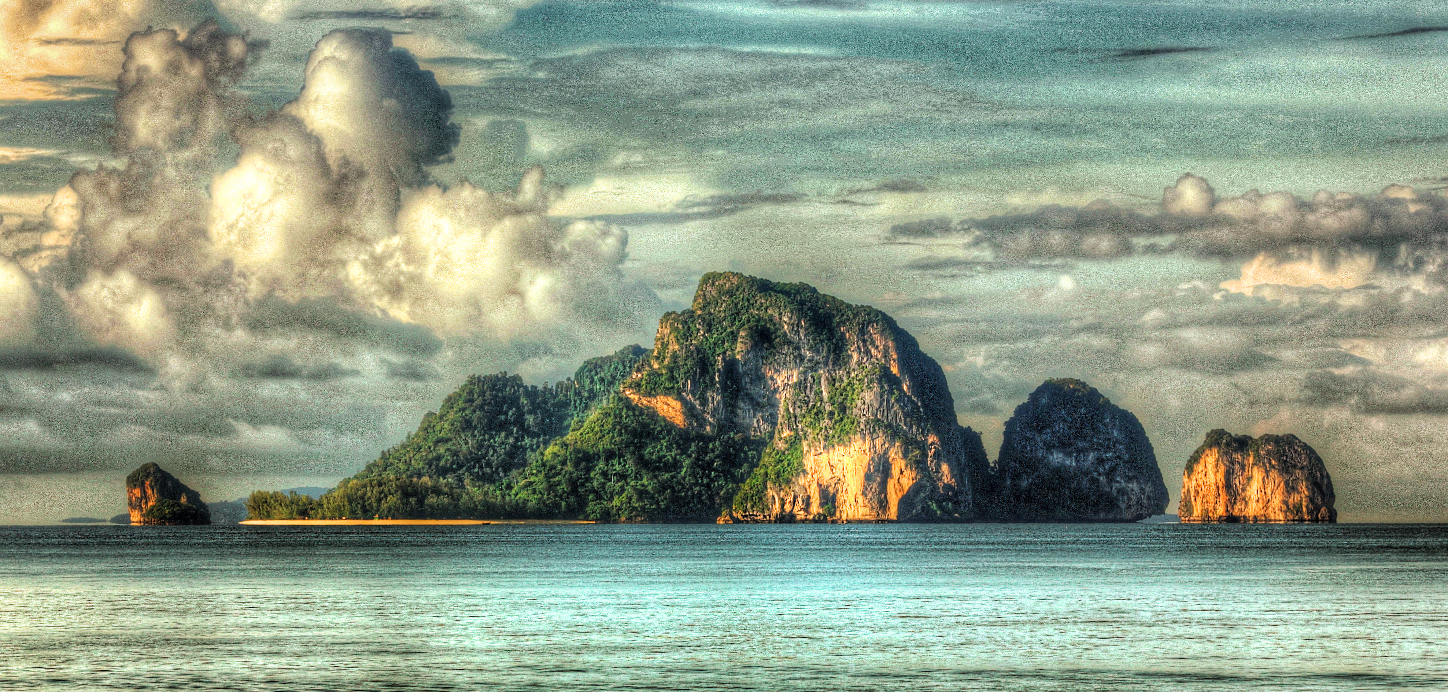 krabi beach view