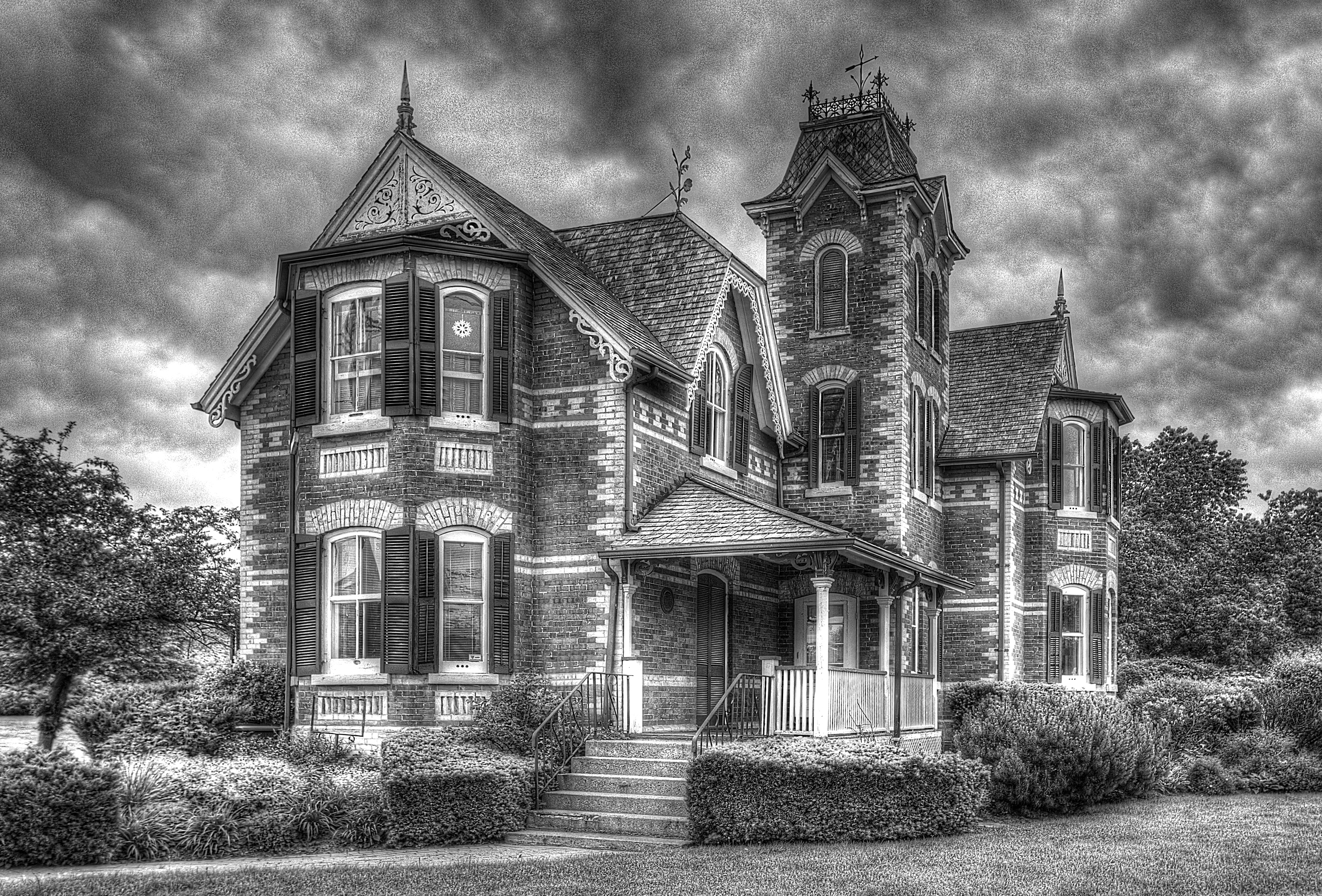 king city house bw
