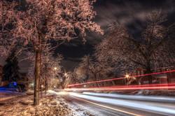 ice storm street