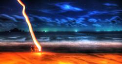beach flame