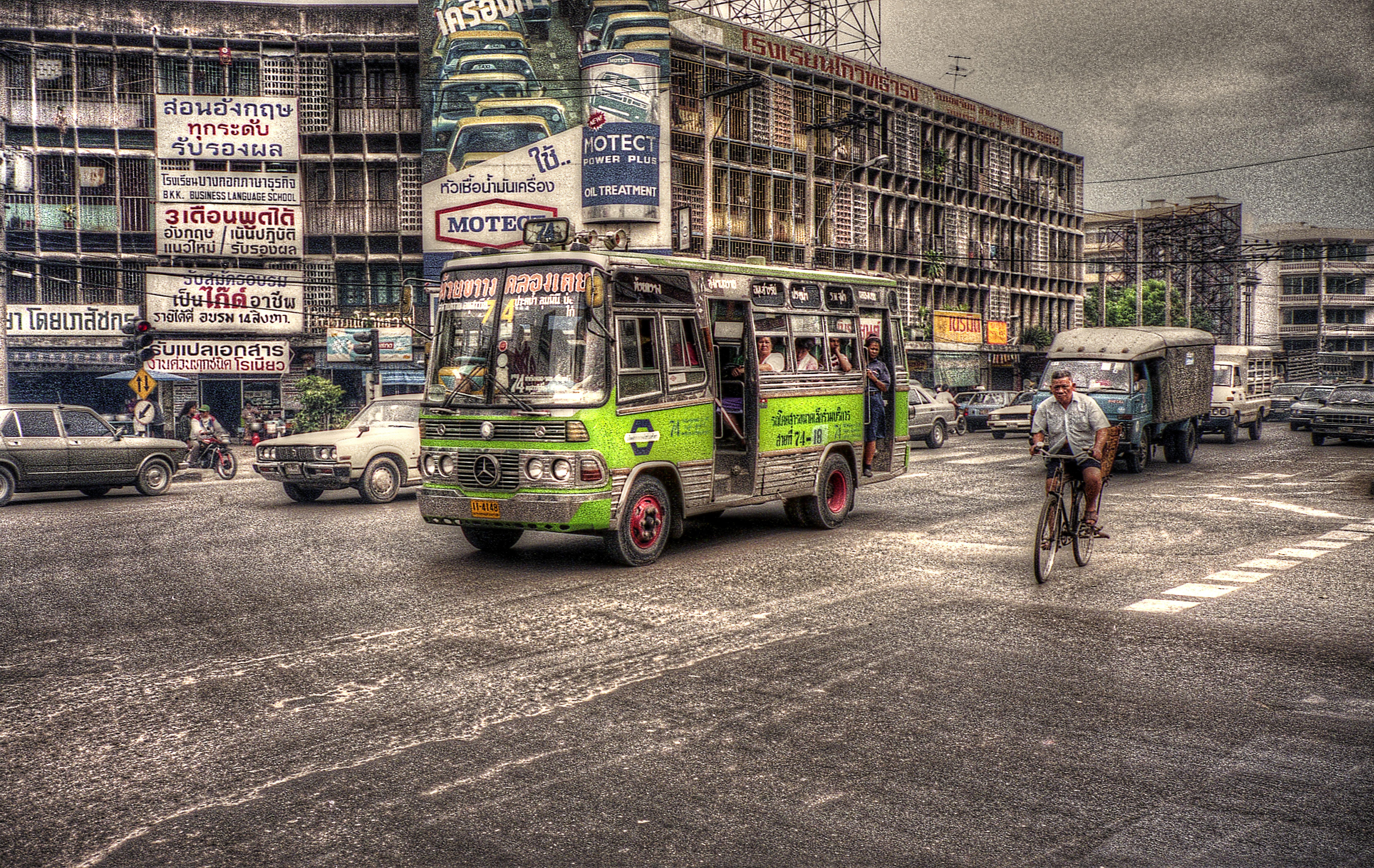 bangkok bus 90s