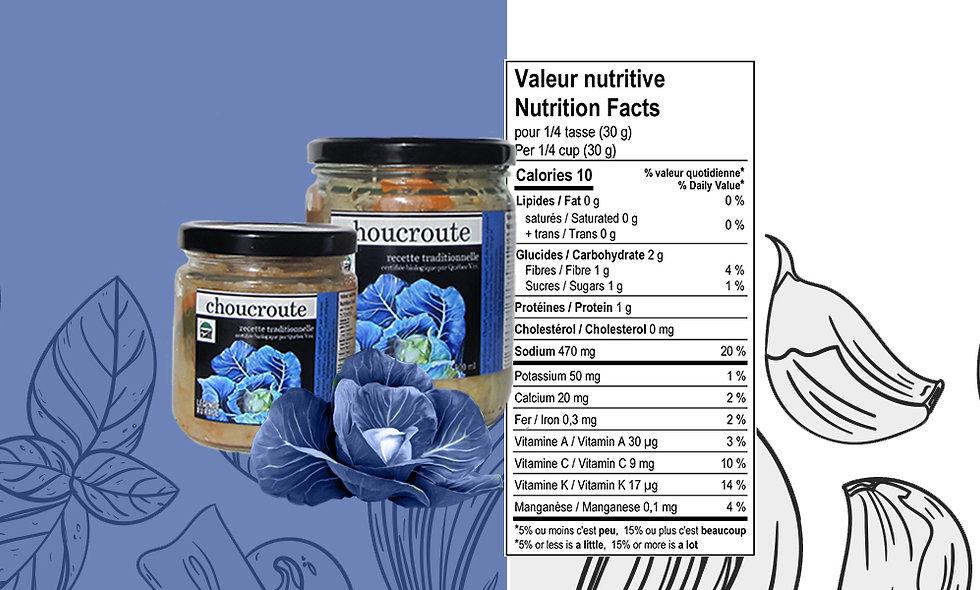 Choucroute biologique recette traditionnelle