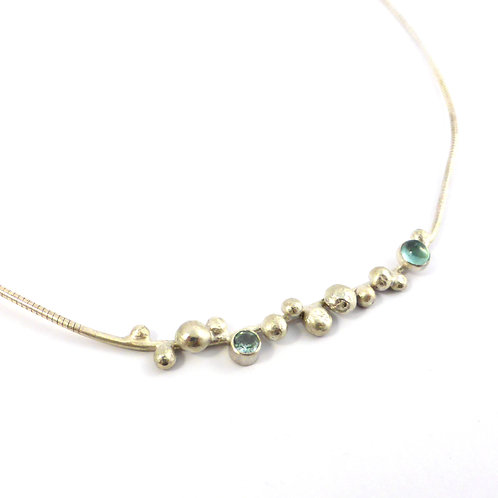 """Necklace """"Blue Drops"""""""