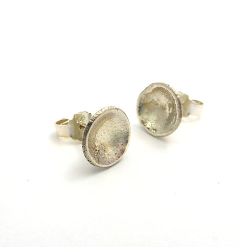 "Earrings ""Silver Cups"""