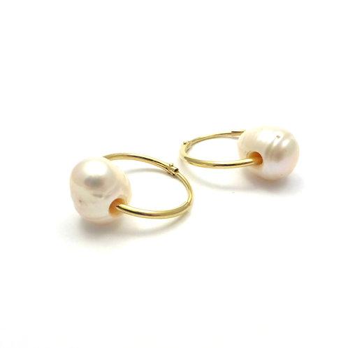 """Earrings """"Golden Hoops"""""""