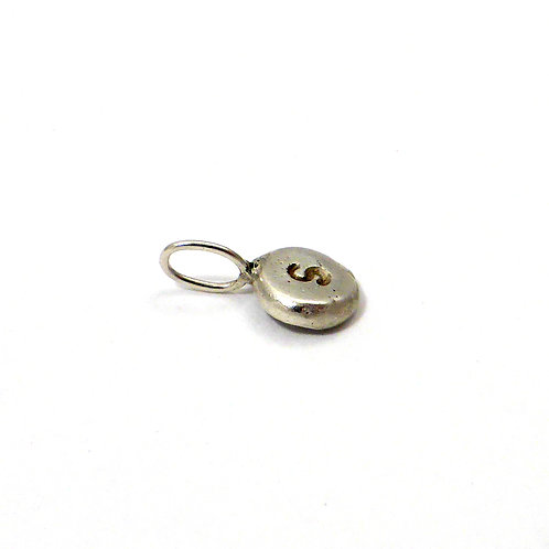 """Pendant """"Letter Stamp Silver"""""""