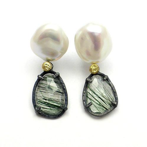 """Earrings """"Pearl Lady"""""""