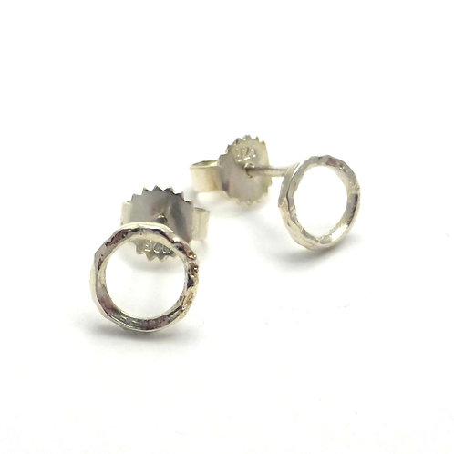 "Earrings ""Silver Circles"""