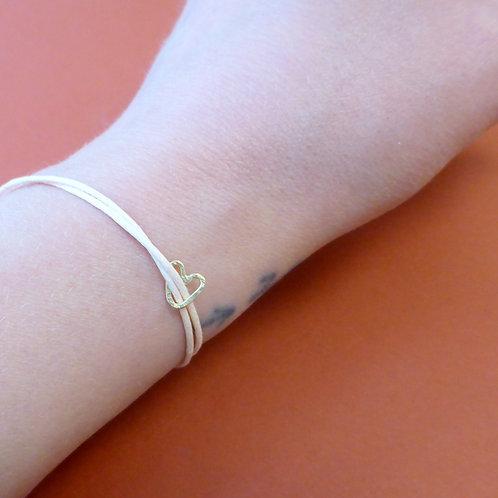 """Pendant / Bracelet """"Golden Heart"""""""