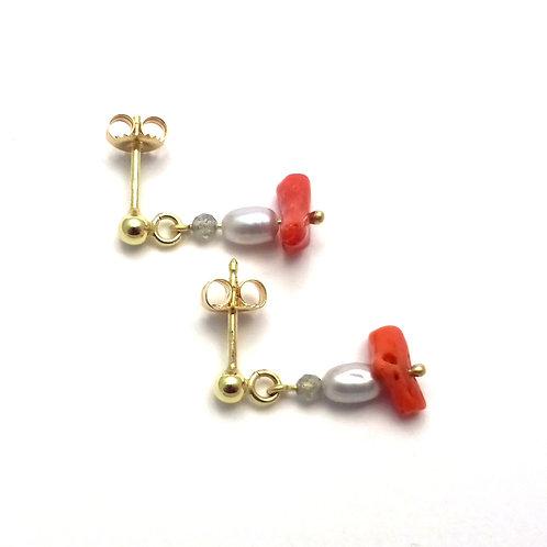 """Earrings """"Summer Night"""""""