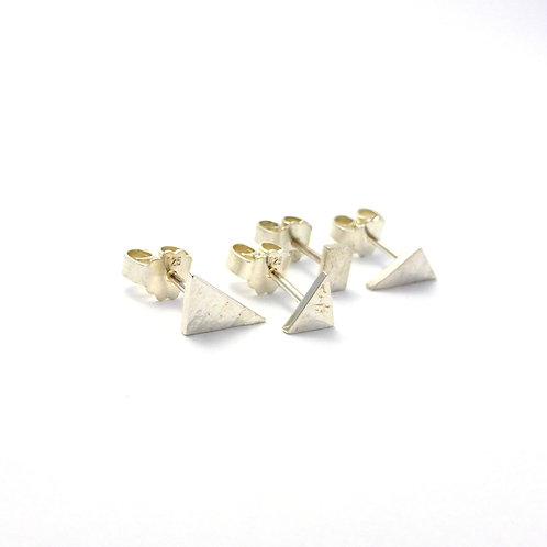 """Earrings """"Geometric Silver"""""""