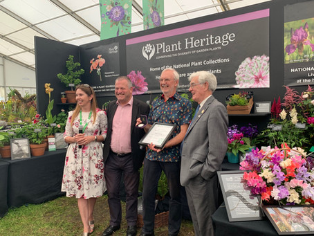 In support of Plant Heritage