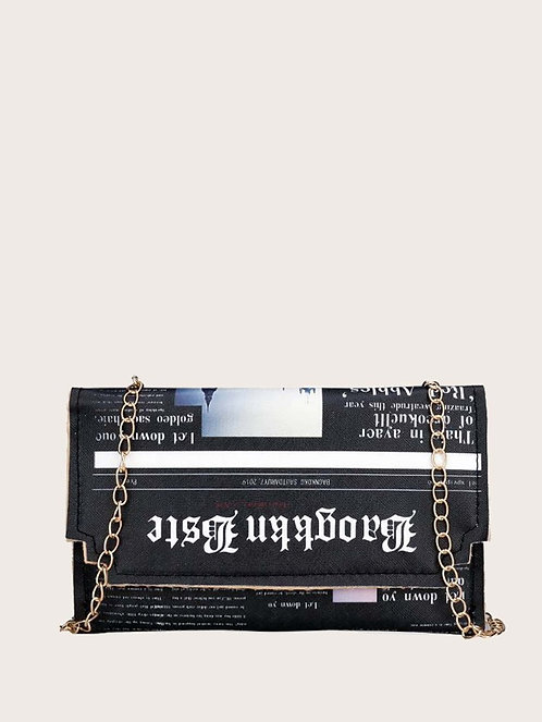 """News You Can Use"" Crossbody"
