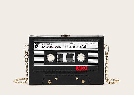 """""""Cassette Tape"""" Crossbody"""