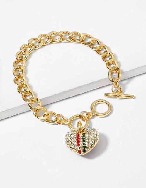 Heart Locket Bracelet