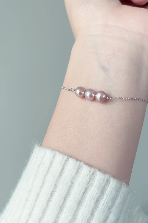 Spring Special: Pink TriO Bracelet