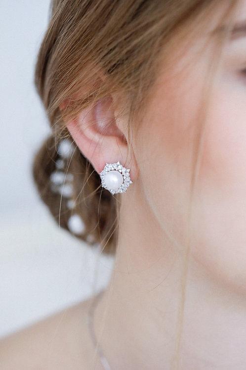 Sunflower Clip Earrings/ Earrings