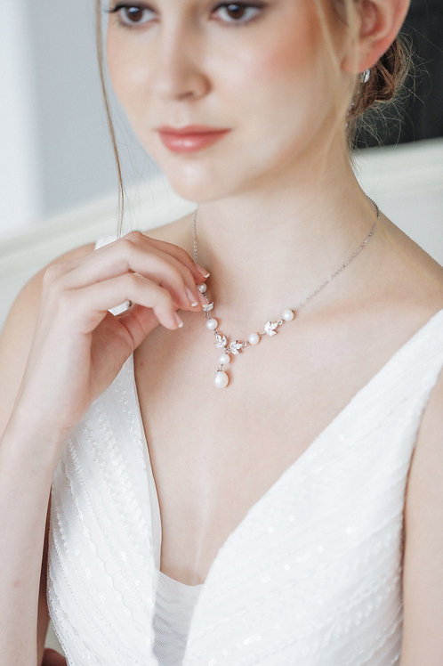 The Marquises Drop Necklace
