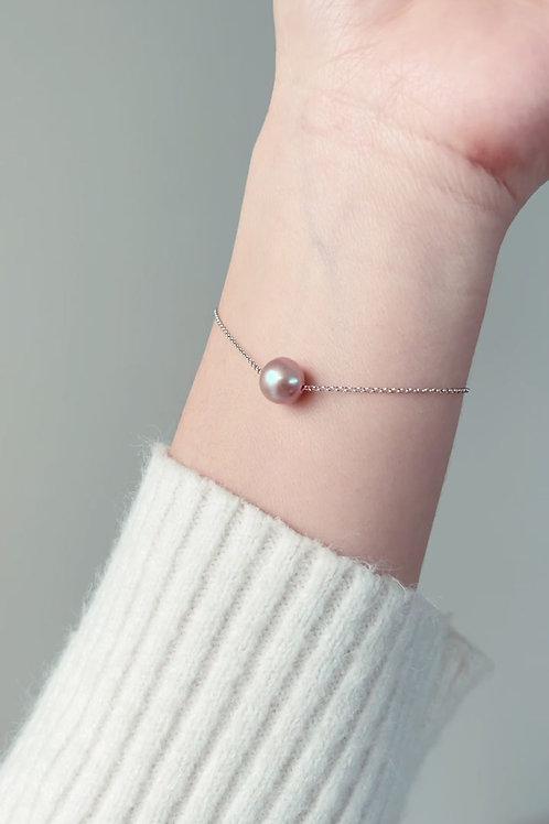 Spring Special: Pink A Floating Pearl Bracelet